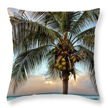 Life Is A Beach Throw Pillow by Marcia Colelli
