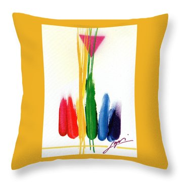 Life Is A Miracle  Throw Pillow