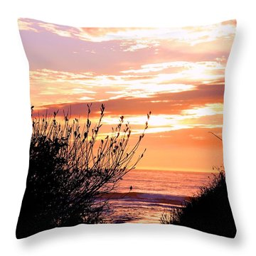 Life Is A Silhouette Throw Pillow