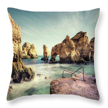 Life Is An Ocean Throw Pillow