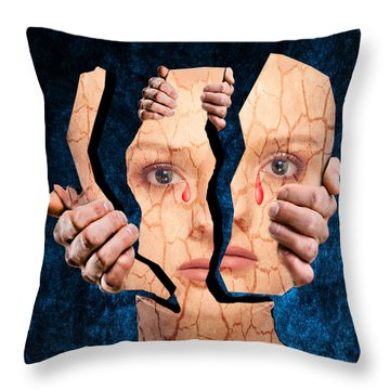 Life Is Full Of Pain And Suffering Throw Pillow