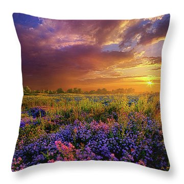 Life Is Measured In Moments Throw Pillow