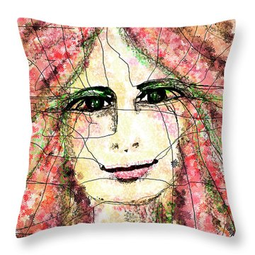 Life Is Now Throw Pillow by Sladjana Lazarevic