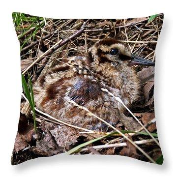 Life Is Precious Throw Pillow