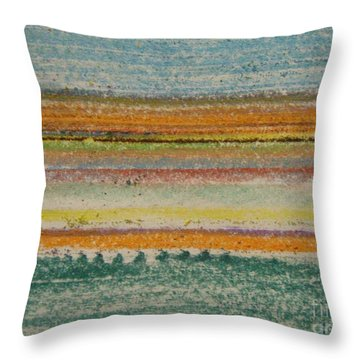 Throw Pillow featuring the photograph Life Lines  by Kristine Nora