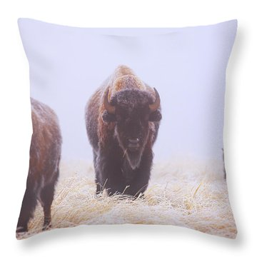 Life Must Go On Throw Pillow