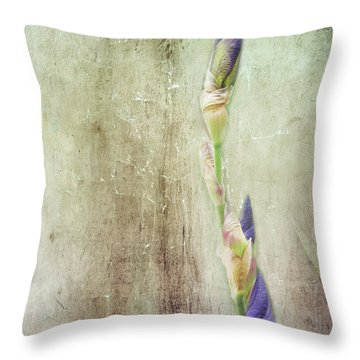 Life Of A Bud Throw Pillow