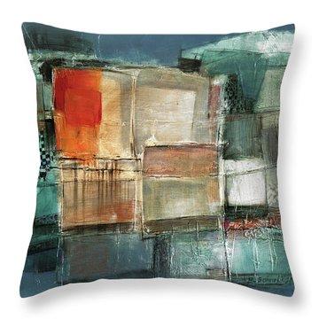 Patterns Throw Pillow by Behzad Sohrabi