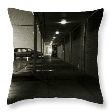 Life Of The Salesman Throw Pillow
