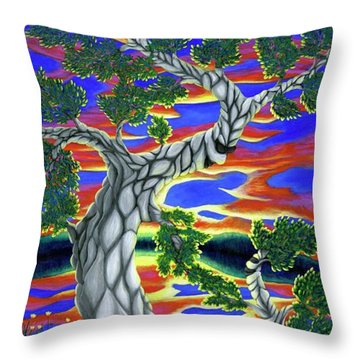 Life Of Trees Throw Pillow