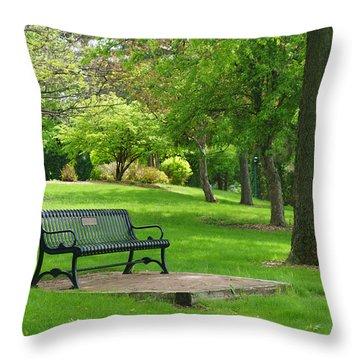 Life Saver  Throw Pillow by David Hernandez