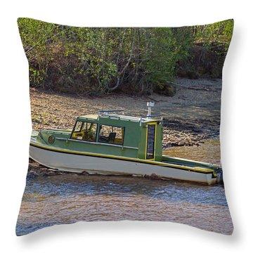 Life Saving Transportation Throw Pillow by Allan Levin