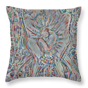 Life Series 4 Throw Pillow
