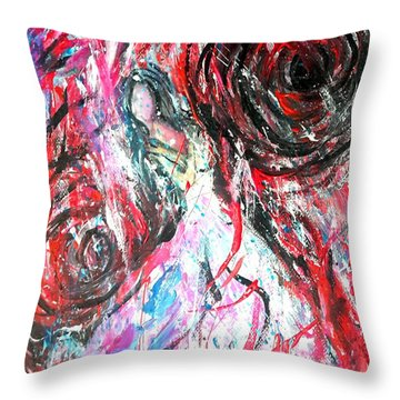 Life Storm Throw Pillow