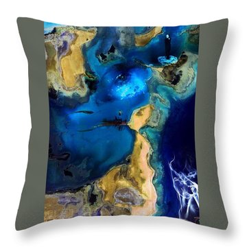 Throw Pillow featuring the photograph Life Stream by Richard Ricci