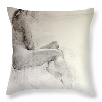 Life Study Throw Pillow