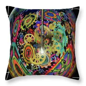 Life / Time Throw Pillow