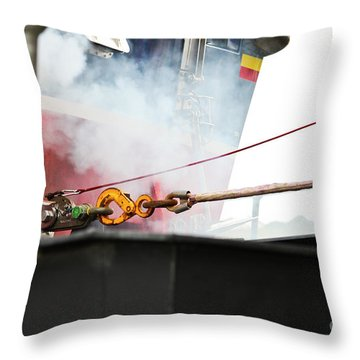 Lifeboat Chocks Away  Throw Pillow
