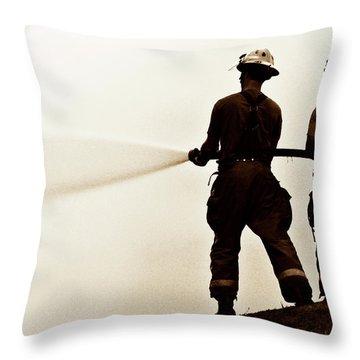 Lifeline Throw Pillow