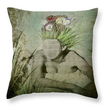 Throw Pillow featuring the digital art Life's A Beach by Delight Worthyn