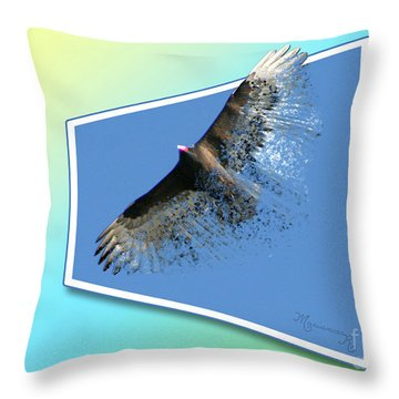 Life's Impermanence  Throw Pillow