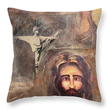 Life's Journey 2 Throw Pillow