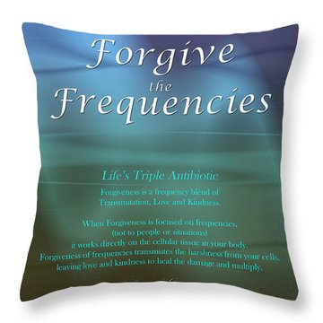 Life's Triple Antibiotic Throw Pillow