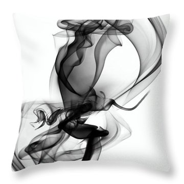 Lift Throw Pillow by Clayton Bruster