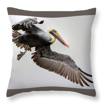 Lift Off Throw Pillow