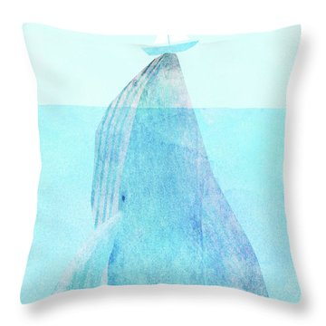 Lift Option Throw Pillow by Eric Fan