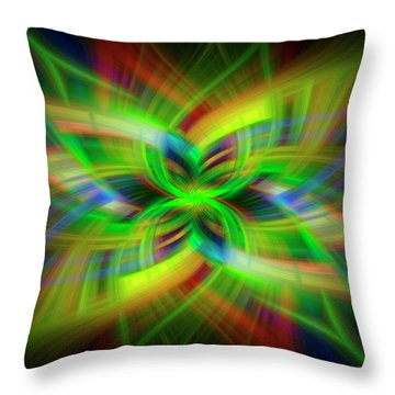 Light Abstract 1 Throw Pillow