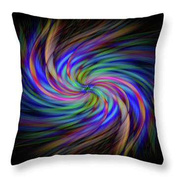 Light Abstract 2 Throw Pillow