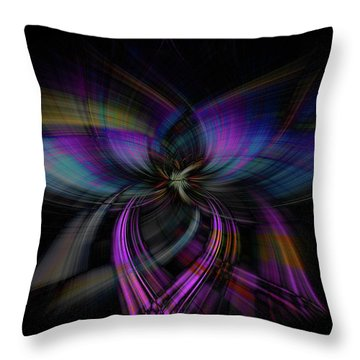 Light Abstract 4 Throw Pillow