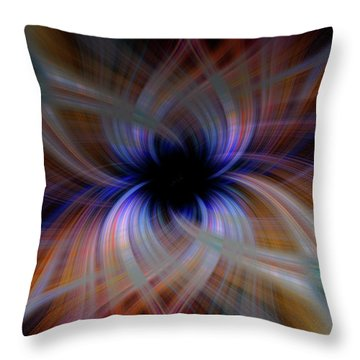 Light Abstract 5 Throw Pillow
