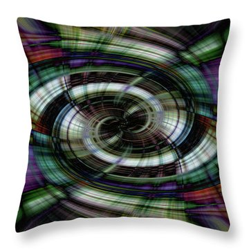 Light Abstract 6 Throw Pillow