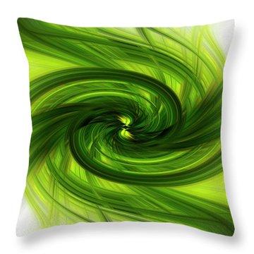 Light Abstract 8 Throw Pillow