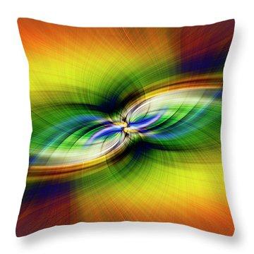 Light Abstract 9 Throw Pillow