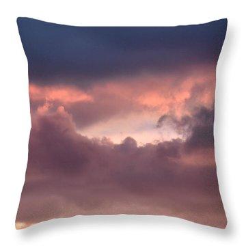 Light After Storm Throw Pillow