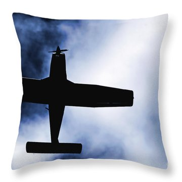 Throw Pillow featuring the photograph Light Aircraft by Craig B
