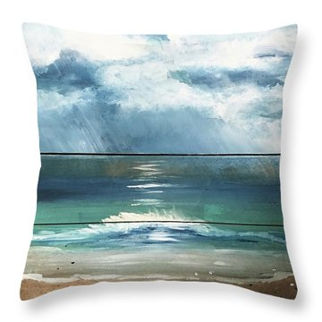 Light And Darkness Throw Pillow