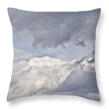 Light And Heavy Throw Pillow