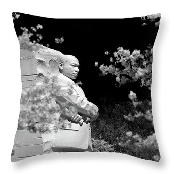 Throw Pillow featuring the photograph Light And Love by Mitch Cat