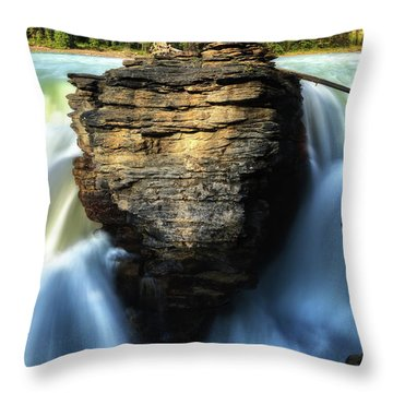 Light And Movement Throw Pillow