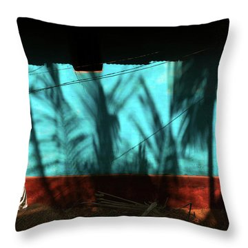 Light And Shadows Throw Pillow by Marji Lang