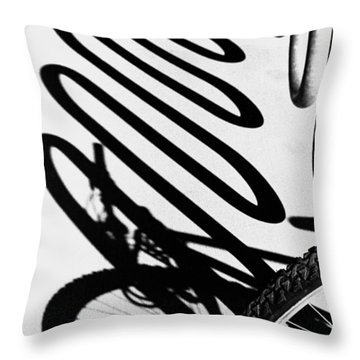Throw Pillow featuring the photograph Light And Shadows by Wanda Brandon