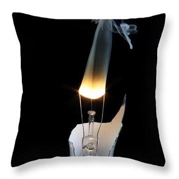 Light And Smoke Throw Pillow