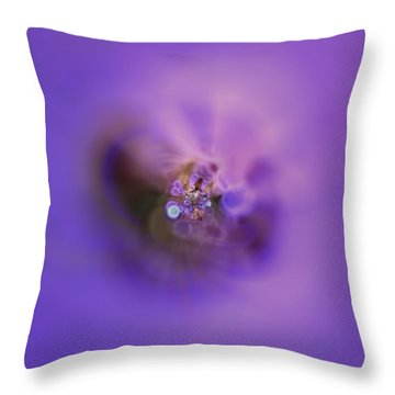 Throw Pillow featuring the digital art Light And Sound Abstract by Robert Thalmeier