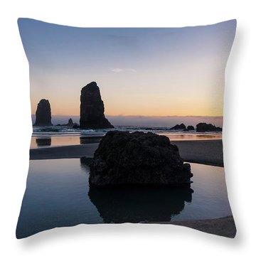 Light And Tide Throw Pillow