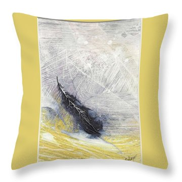 Light As A Feather Throw Pillow