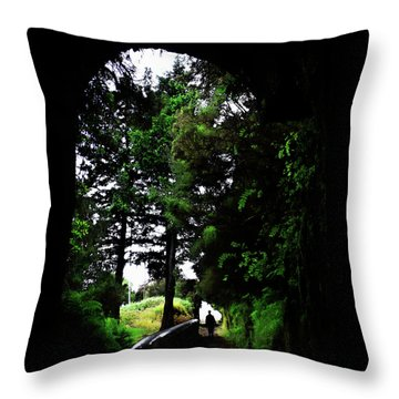 Light At The Last Throw Pillow